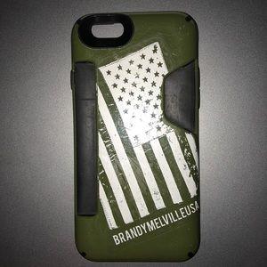 IPHONE 6 Wallet Speck Case:American BrandyMelville